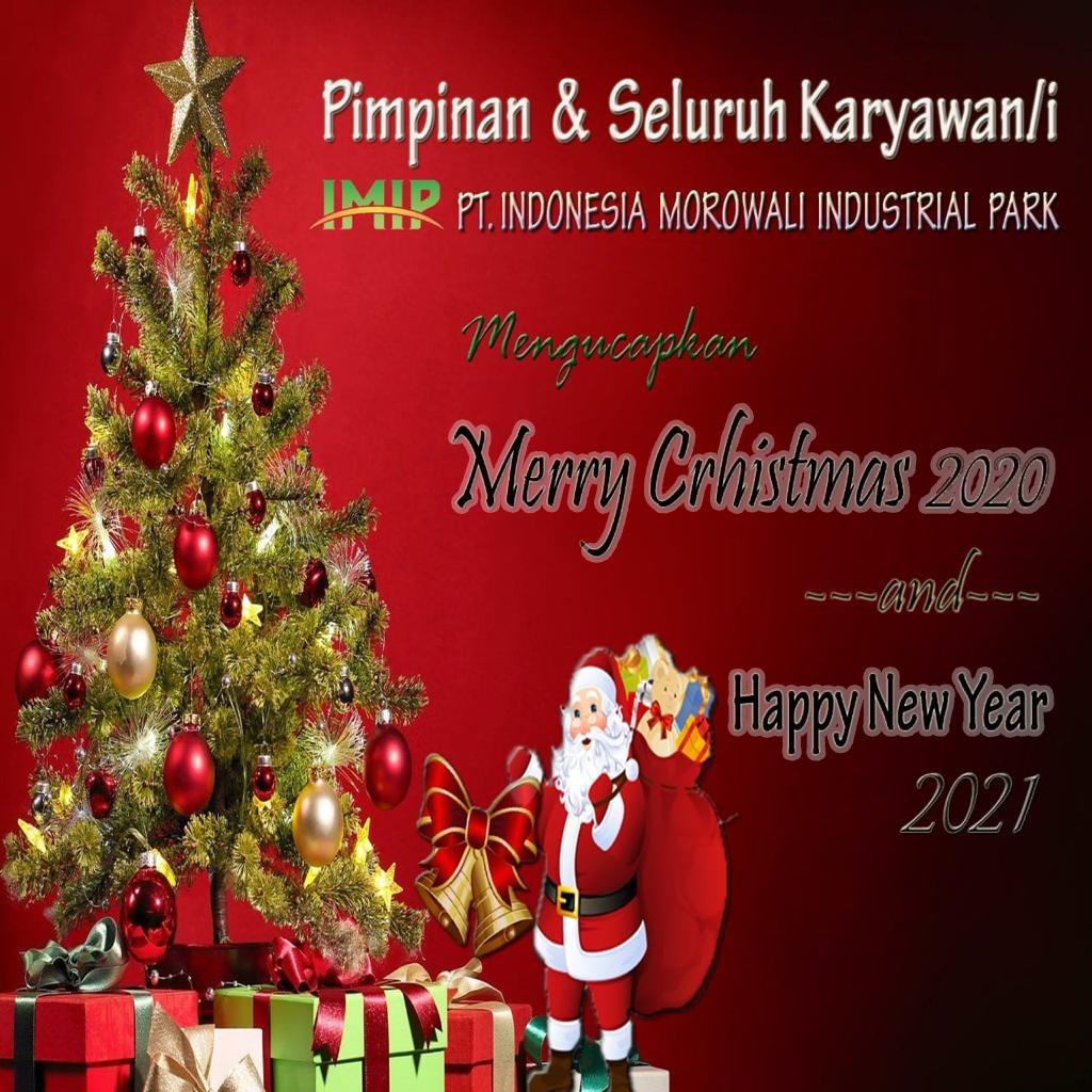 IMIP Selamat Natal & Tahun Baru
